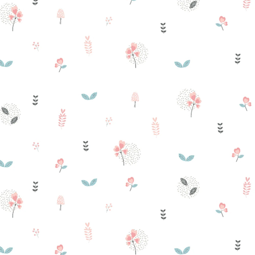 Papel de Parede Floral - Estampa exclusiva